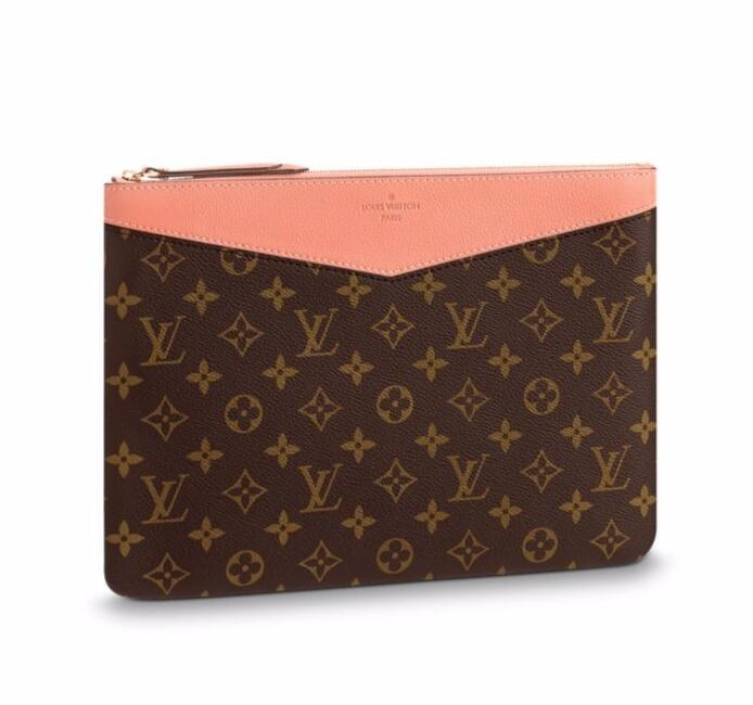 Louis Vuitton Monogram Canvas Daily Pouch M64590 Peche