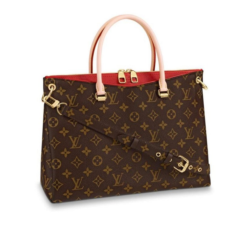 Louis Vuitton Monogram Canvas Pallas M41175 Cerise