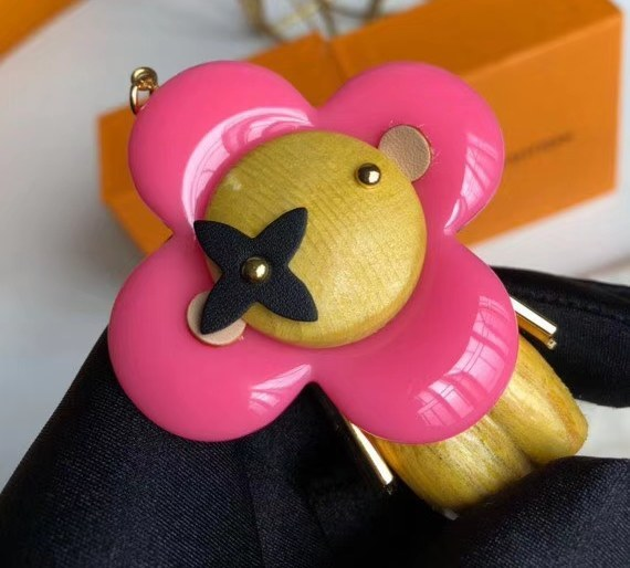 Louis Vuitton Vivienne Bag Charm and Key Holder M67298 Pink