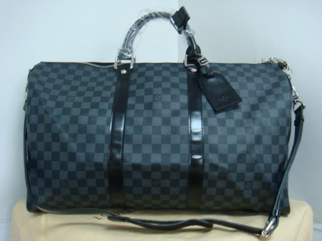 Louis Vuitton Damier Graphite Canvas Keepall 50 N41415