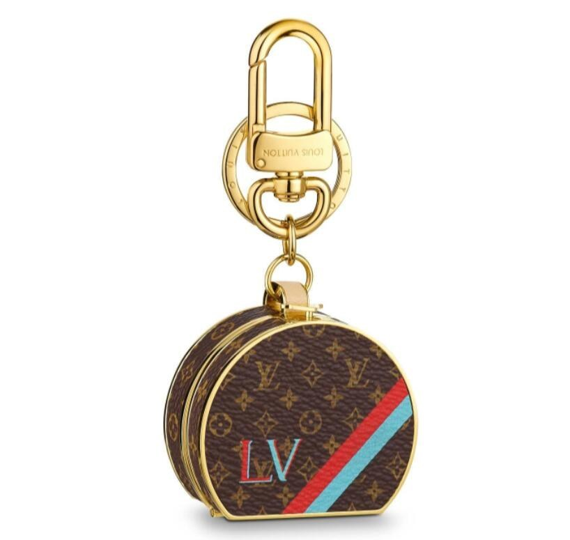 Louis Vuitton Boite Chapeau Bag Charm and Key Holder M63089