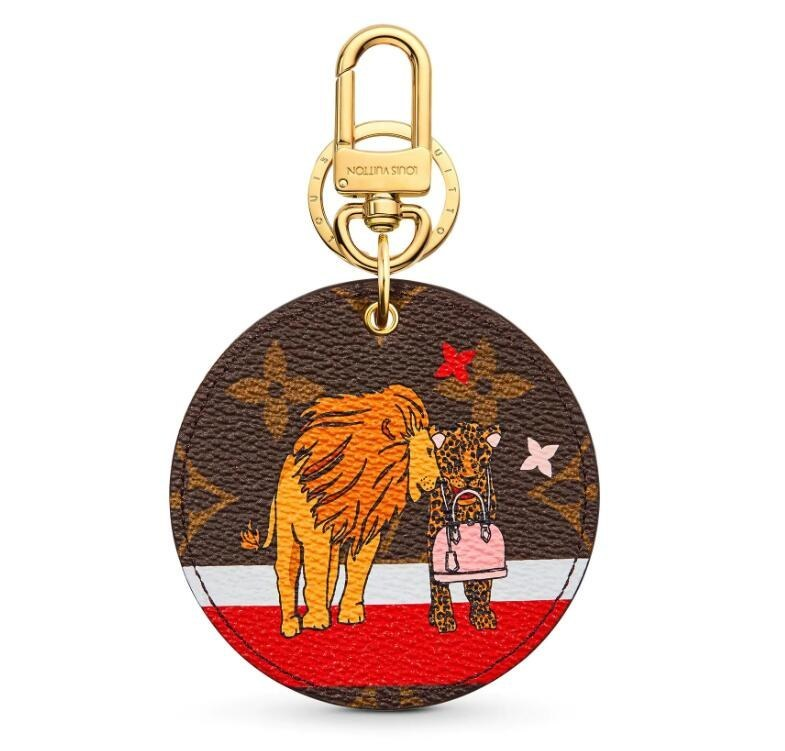 Louis Vuitton Xmas Animals Bag Charms & Key Chains M63750