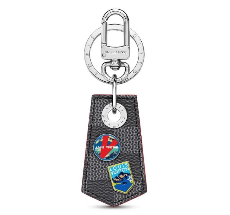Louis Vuitton Lv Alpes Small Enchappe Bag Charm and Key Holder M63770