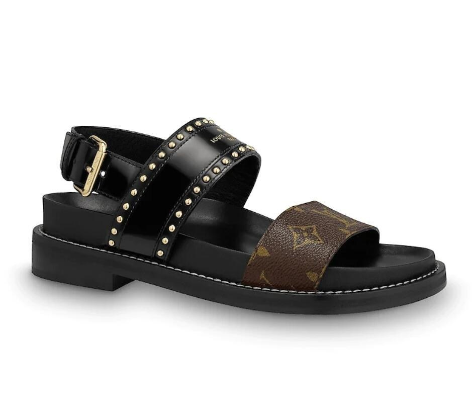 Louis Vuitton Crossroads Comfort Sandal 1A65ZP Black