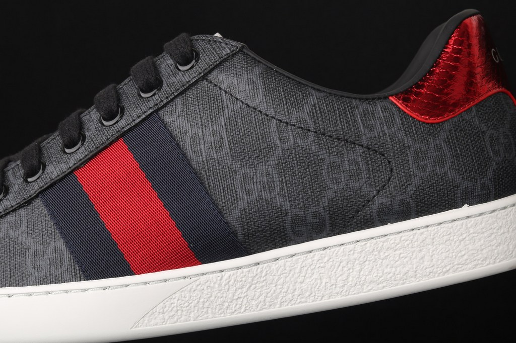 Gucci Ace GG Supreme Sneaker 429445 Black