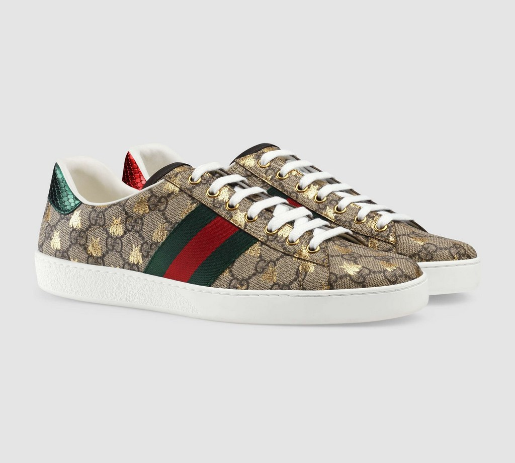 Gucci Ace GG Supreme Bees Sneaker 548950