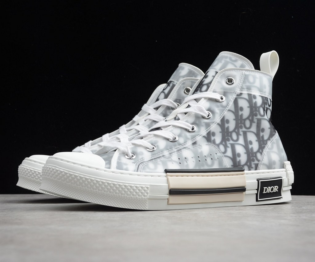Dior B23 High-top Sneaker 3SH118YJP White&Black