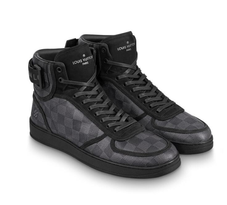 Louis Vuitton Rivoli Sneaker 1A44W9 Black