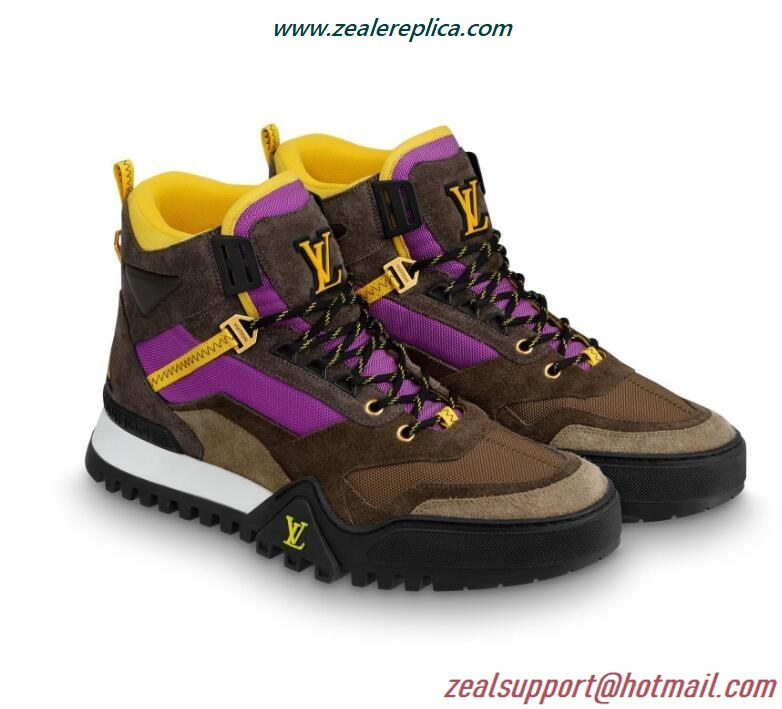 Louis Vuitton LV Hiking Ankle Boot 1A5EZP Violet