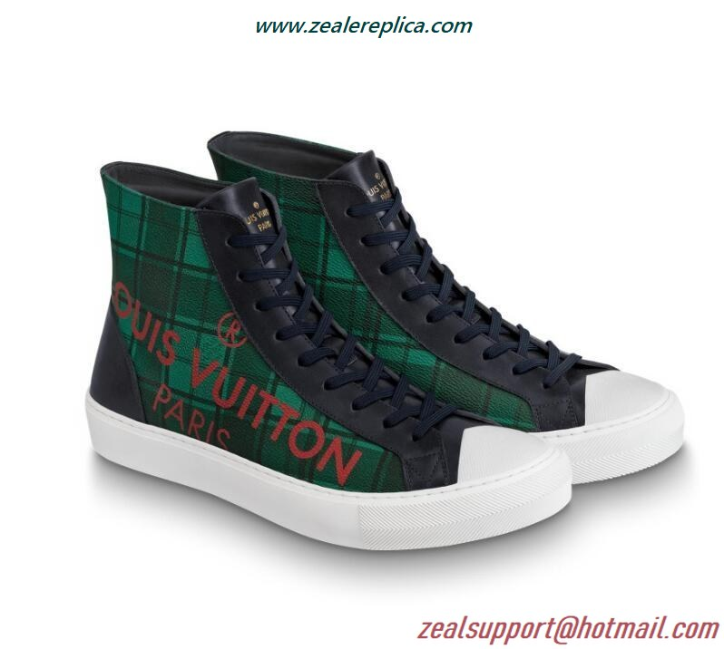 Louis Vuitton Tattoo Sneaker Boot 1A5H1Z Vert