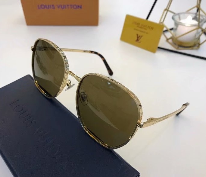 Louis Vuitton LV Catch Round Sunglasses Z1352E-3