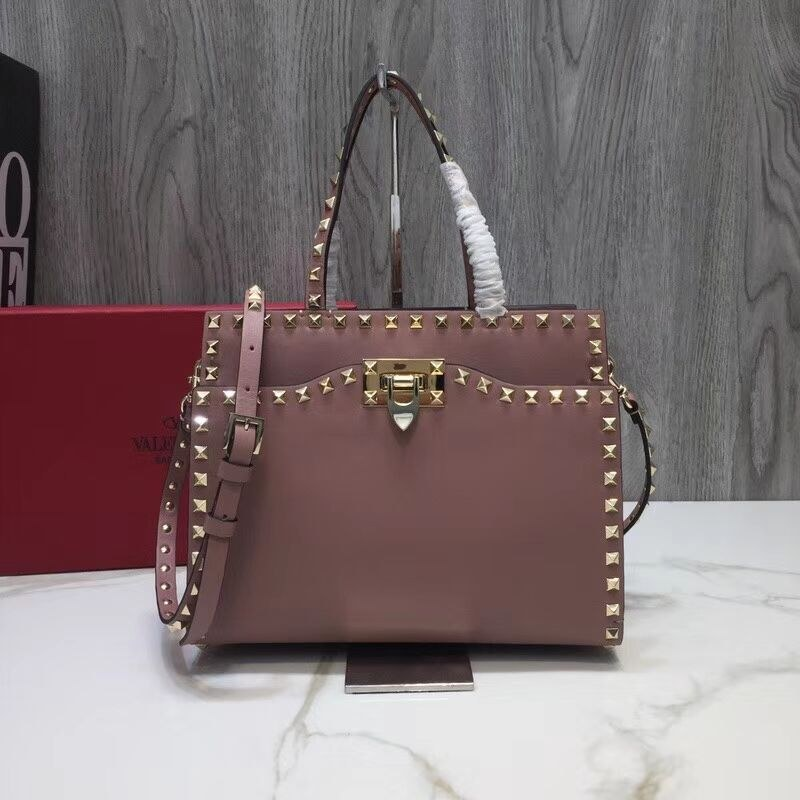 Valentino Garavani Rockstud Small Top Handle QW0B0C65A Pink