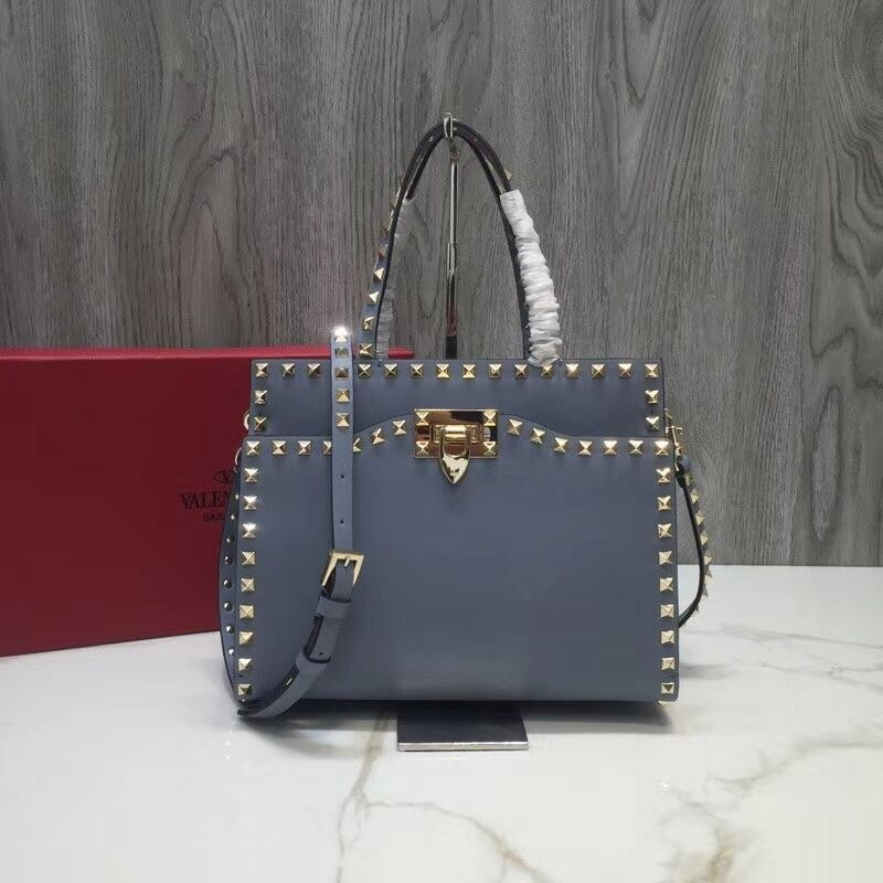 Valentino Garavani Rockstud Small Top Handle QW0B0C65A Skyblue
