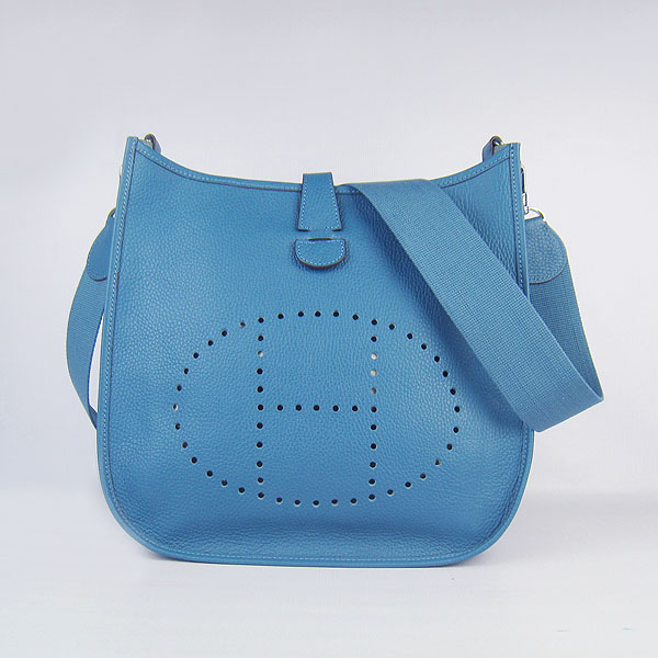 Hermes Evelyne Bag 1551A Blue
