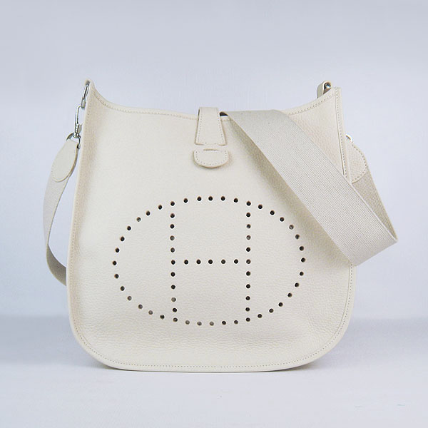 Hermes Evelyne Bag 1551A Cream