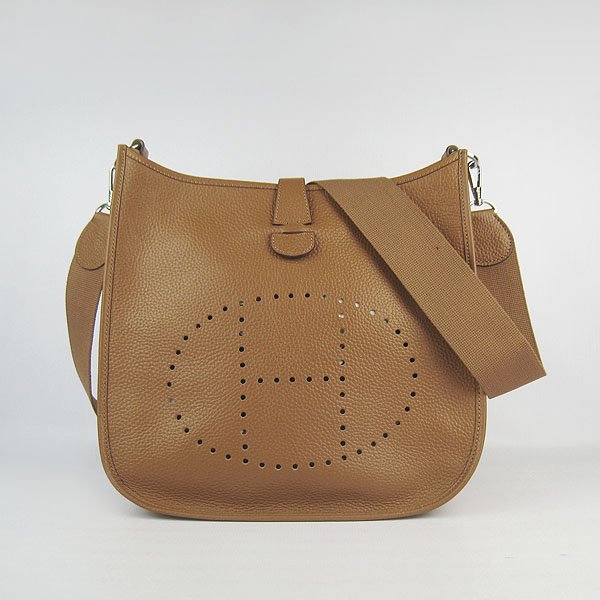 Hermes Evelyne Bag 1551A Light Coffee