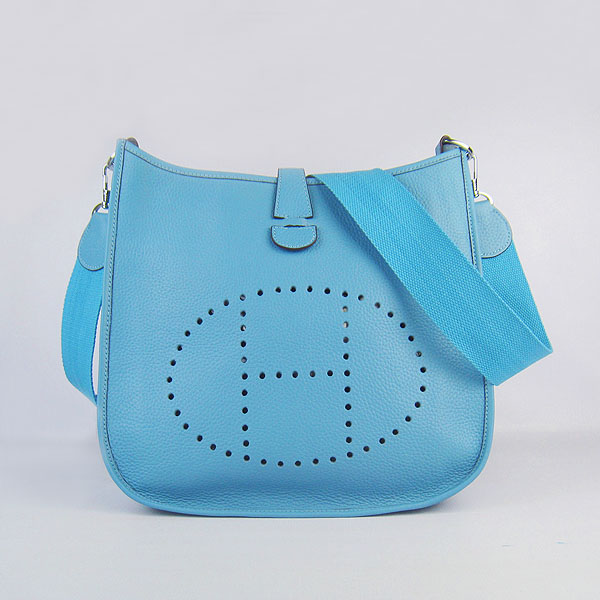 Hermes Evelyne Bag 1551A Lightblue