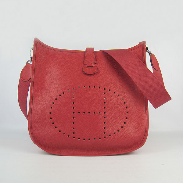 Hermes Evelyne Bag 1551A Red