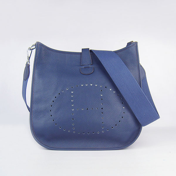Hermes Evelyne Bag 1551A Darkblue