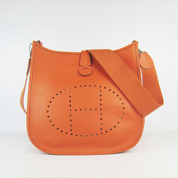 Hermes Evelyne Bag 1551A Orange