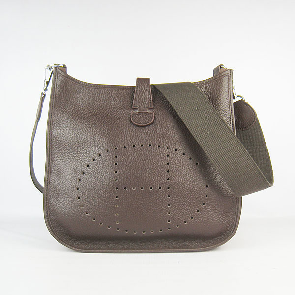 Hermes Evelyne Bag 1551A Dark Coffee